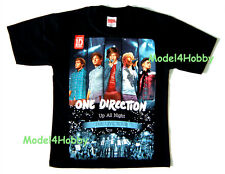 ONE DIRECTION WOMEN T-Shirt Black Size XS S Up All Night LIVE TOUR POP BOY BAND