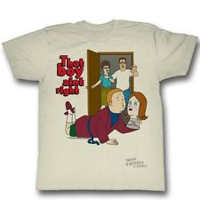 King Of The Hill Hank That Boy Aint Right Licensed Adult Shirt S-XXL