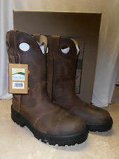 Mens Smoky Mtn. Work Wellington Western Leather Cowboy Boots 8 9 10 11 12 13 EE