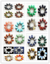 10pcs Beautiful mixed stone pendant bead C-0125