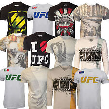 UFC MMA Cage Fighter Tee T-Shirt Top Couture Saint Pierre New Various Styles