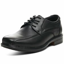 Mens Leather Oxfords Dress Shoes Dressy Lace up By Alpine Swiss Baseball Stitchd
