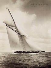 BEKEN OF COWES -WHITE HEATHER .YACHT ART PRINT WITH FRAME OPTIONS OR AS CANVAS