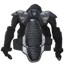 NEW 1STORM MOTORCYCLE MOTOCROSS BIKE GUARD PROTECTOR ADULT BODY ARMOR BLACK