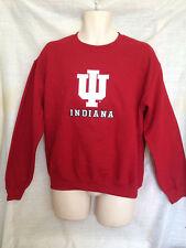 UNIVERSITY OF INDIANA HOOSIERS SWEATSHIRT RED ASST SIZES BRAND NEW WITH TAGS 101