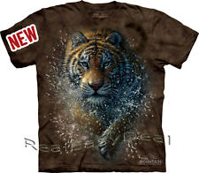 "Adult TIGER CAT Jungle The Mountain T Shirt ""Tiger Slash"" All Sizes 10-3327"