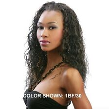 ORADELL MOTOWN TRESS LG 61 HALF WIG PONYTAIL CRIMP WAVY LONG LAYERED SYNTHETIC