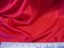 """Discount Fabric nylon Tricot stretch Red 54"""" wide Free ship"""