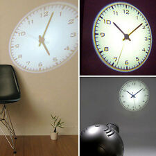 4th Gen LED Romantic Projector Wall Clock Cold Light Virtual Shadow Home Bedroom
