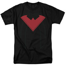 Nightwing Symbol Costume Red New 52 Batman DC Comics Licensed Adult Shirt S-3XL