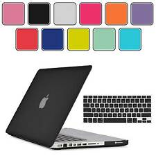 "Rubberized Hard Case Cover+Keyboard Cover+Sleeve For Macbook Pro 13.3 13"" A1278"