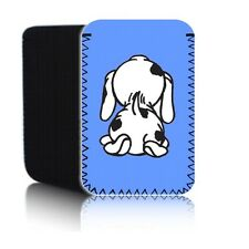 'CUTE SPOTTY DOG' (7HD) Neoprene Pouch for AMAZON KINDLE FIRE HD2 (2013) Sock