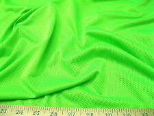 Discount Fabric Polyester Athletic Sports Mesh Neon Green LY925