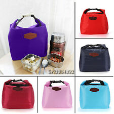 Waterproof Thermal Cooler Insulated Lunch Carry Tote Storage Picnic Bag Pouch