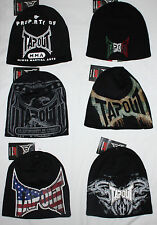 Tapout UFC Men's Graphic Beanie Skull Cap Hat Sz OS NWT several choices  **