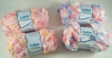 Needle Crafters CLOUD CHENILLE Yarn SO SOFT 2 New Skeins U PIC COLORS