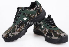 MENS CAMO LACE UP Hot Weather Hunter MILITRAY Desert Anti-skidding COMBAT BOOTS