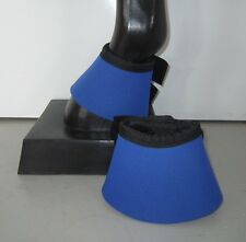 Horse Bell or Overreach Boots Royal blue & Black AUSTRALIAN MADE Protection