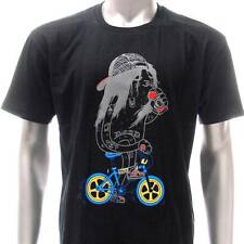 dd44b2 Sz M L DD T-shirt Tattoo Monster Fixed Gear Rider Bicycle Demon Indie bmx