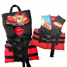 Kids Life Jacket Vest Child, Infant, Toddler Disney Cars Lightning McQueen