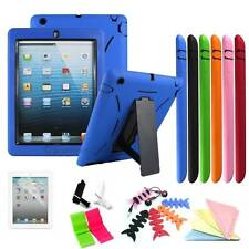 Apple iPad 2 3rd 4th generation Armor Military Shockproof Case Cover With Stand