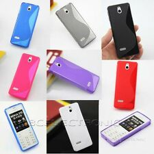 New S line Skidproof Gel skin Case cover For Nokia 515 Asha 515