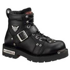 Harley-Davidson Men's Brake Buckle Black 6.00-Inch Motorcycle Boots D91684