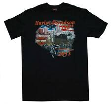 Harley-Davidson Men's Limited Editon Milwaukee Cityscape T-Shirt Black, CITY