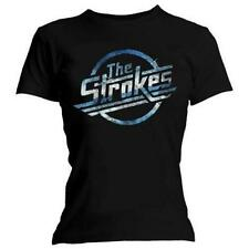Official Skinny T Shirt THE STROKES Blue MAGNA