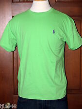 Polo Ralph Lauren Lime Green T-Shirt Purple Polo Pony S M L XL XXL NWT