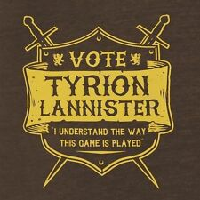 GAME OF THRONES Shirt TYRION LANNISTER I Understand The Way This Game is Played