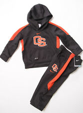 NWT Toddler NIKE DRI-FIT Oregon State OSU BEAVERS football Hoodie/Pants Outfit