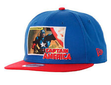 New Era Cap Hero 9fifty Captain America Panel Snapback DC Comics With Gift Box