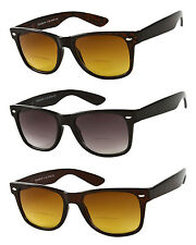 The Arizona Wayfarer Bifocal Spring Temple Sun Reader Sunglasses Various Power
