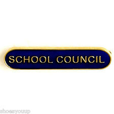 School Council Badge ideal for schools available in 4 colours (GW)