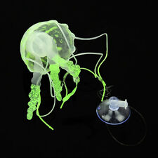 Jellyfish For Aquarium Glowing Ornament Effect Swim Decoration Fish Jar Tank