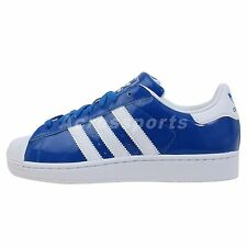 Adidas Originals Superstar II 2 Blue White 2014 Classic Casual Shoes Sneakers