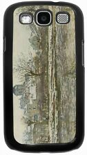 Rikki Knight Claude Monet Art Snow in Vetheuil Case for Samsung Galaxy S3 S4 S5