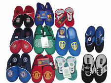 BOYS SLIPPERS OFFICIAL FOOTBALL MIXED TEAMS