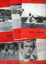 Crewe Alexandra 1975/76 HOME programmes choose from list FREE UK P&P