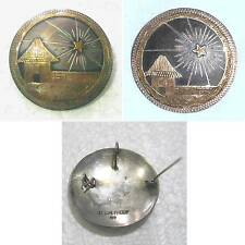 900 Silver pin or pendant, Bethlehem EL'SALVADOR signed Select size & price