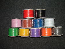 10 Metres Equipment Wire Cable 16/0.2mm Stranded 3A 1KV 11 Colours  - CUT LENGTH