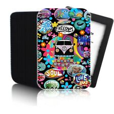 'CAMPERVAN' Collage Case for Amazon Kindle Paperwhite - Neoprene Pouch Cover UK