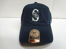 Seattle Mariners Franchise '47 Brand Fitted Cap Navy Blue Unstructured Hat 2014