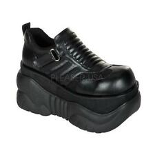Demonia Boxer-05 goth gothic cyber black platform shoes sneakers men's 5-12