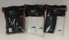Nike 6 pair Men's Crew Cotton Socks Black White Mixed Siz L SX4433 SX5172 SX5171