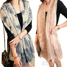 WOMEN HIGH QUALITY LONG BIG WRAPS SCARF SOFT HOT CHIC AUTUMN WINTER SCARVES B83K