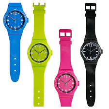 Large Oversized Hanging Quartz Wall Clock Wrist Watch Style Strap Height 92 cm
