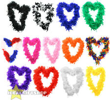65 GRAM FEATHER BOA FANCY DRESS ACCESSORY HEN NIGHT PARTY BULK WHOLESALE