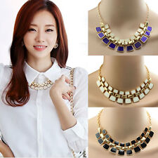1PC Fashionable Hollow Out Enamel Punk Statement Alloy Necklaces Gift Cheap